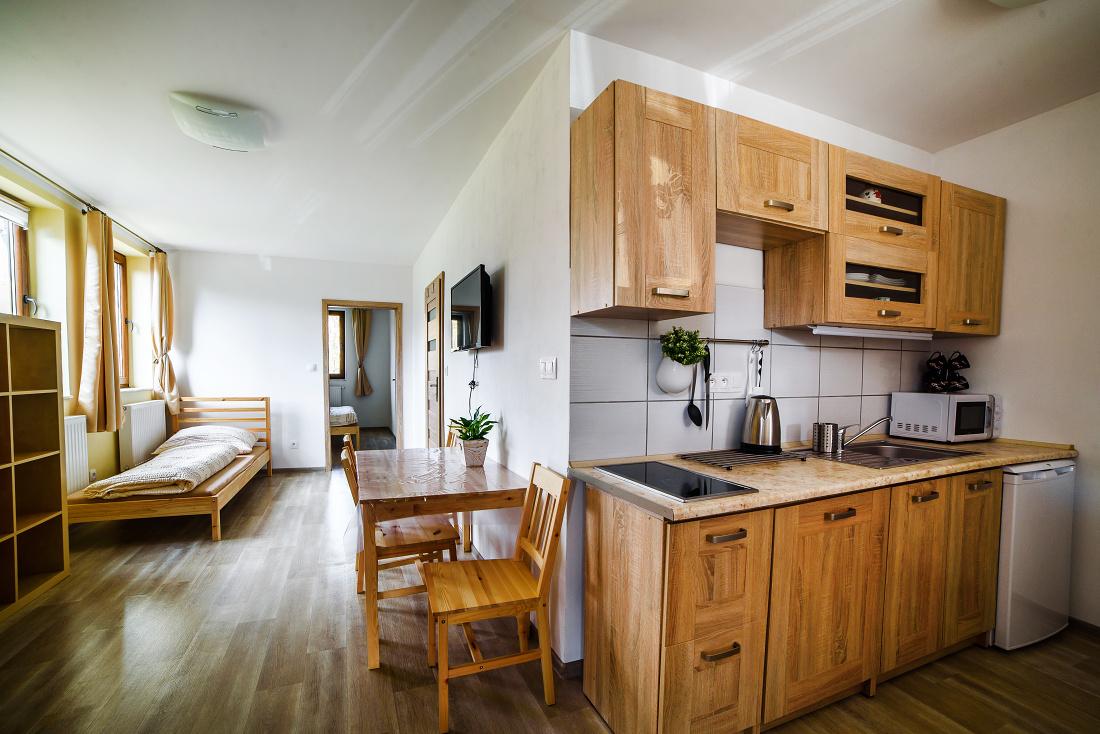 Apartmán pro 4 – Marťa